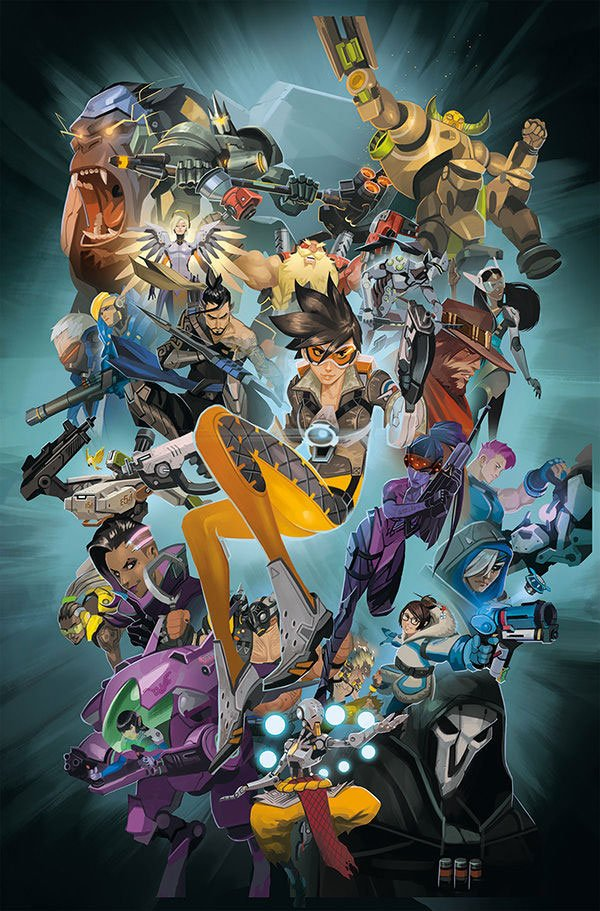 Overwatch Art Book Anthology Volume 1