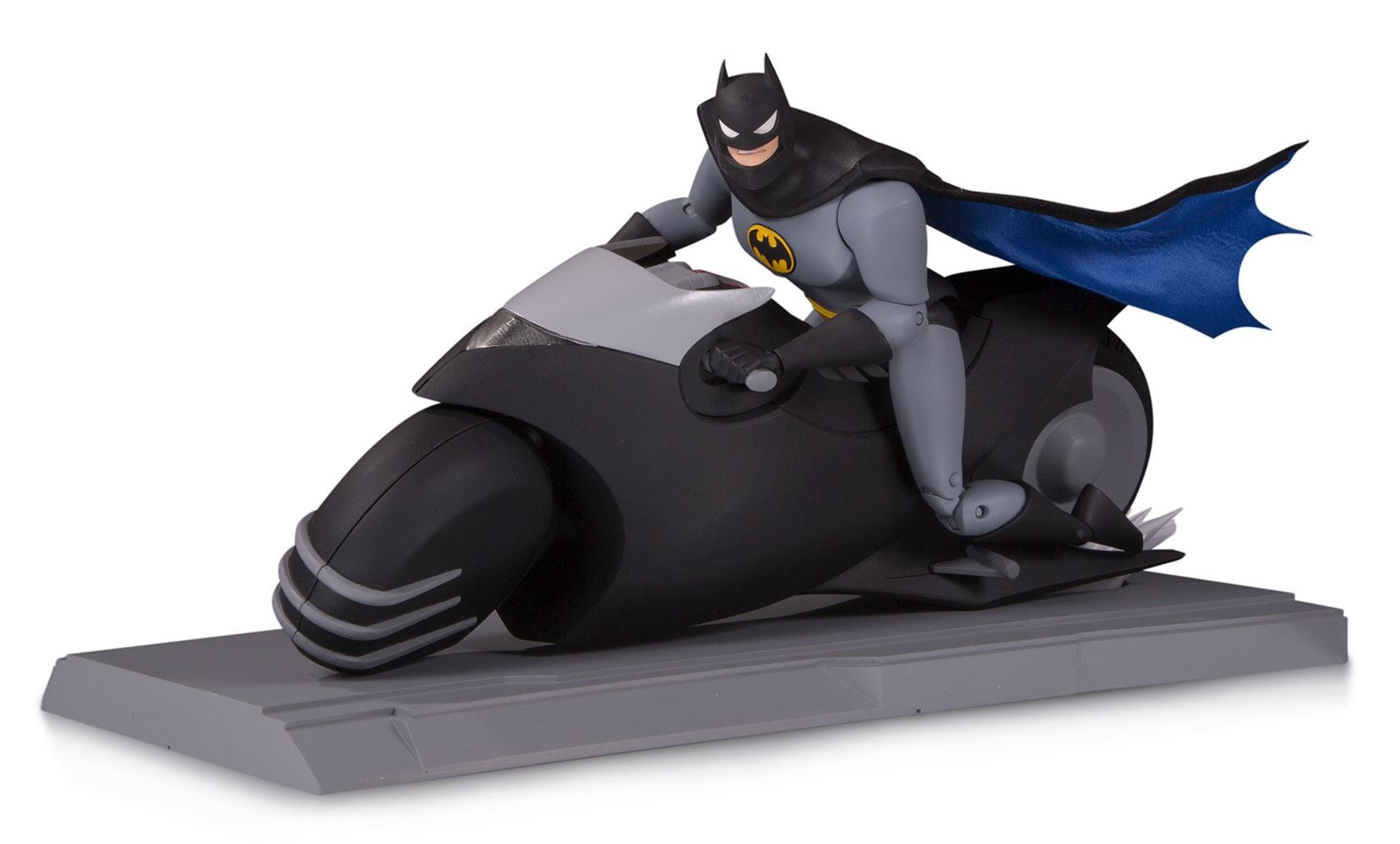 Batman with Batcycle Batman The Animated Series Action Figure by DC Collectibles