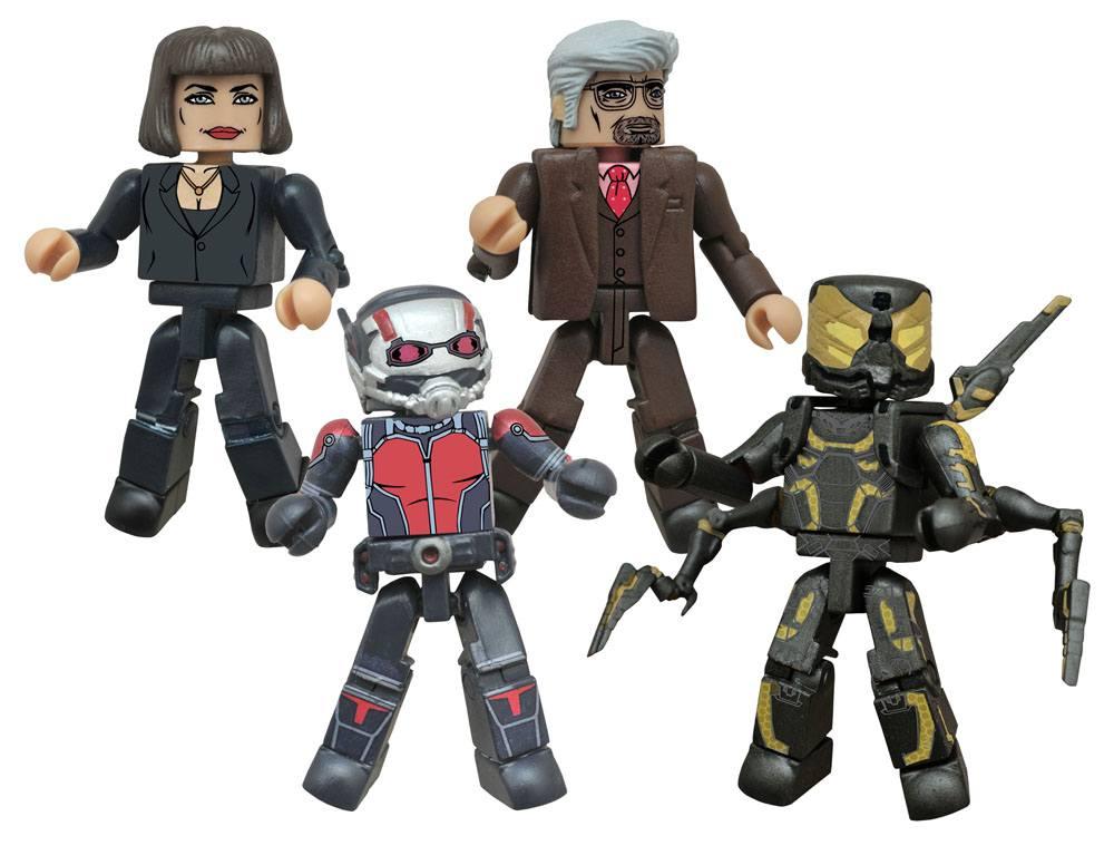Ant-Man Minimates Action Figures 5 cm Movie Box Set