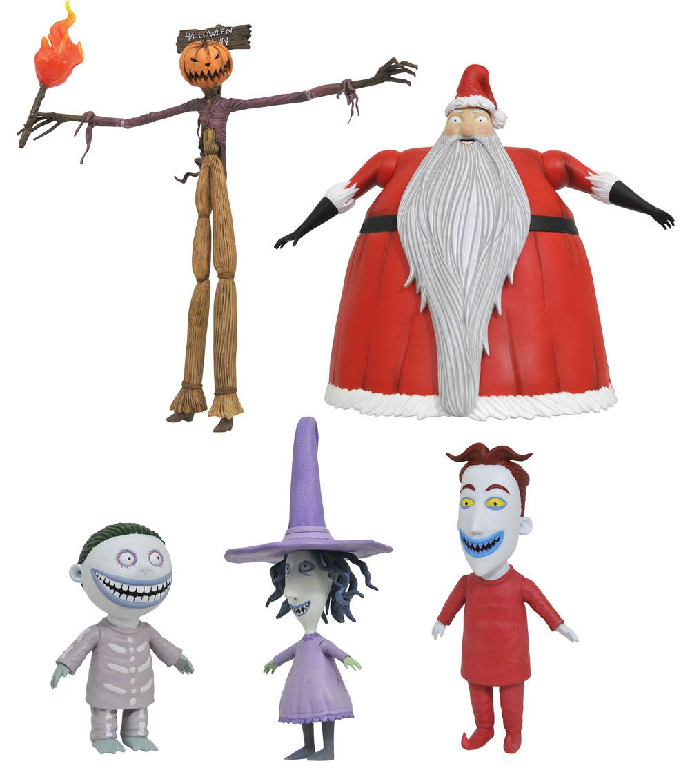 Nightmare before Christmas Select Action Figures 18 cm Series 3 Assortment (6)