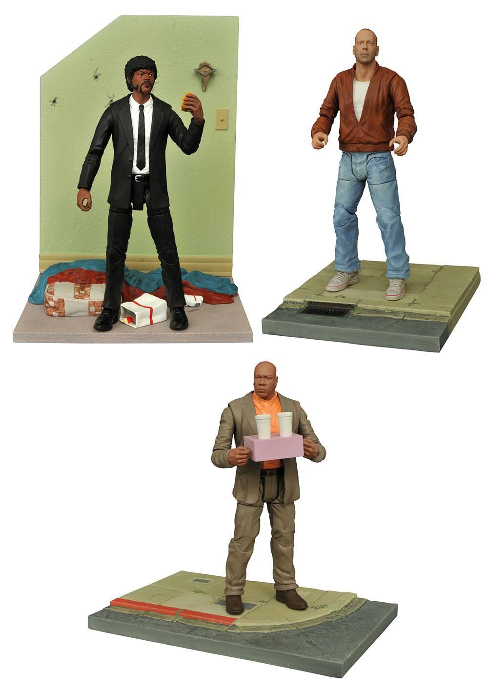 Pulp Fiction Select Action Figures 18 cm Series 1 Assortment (6)
