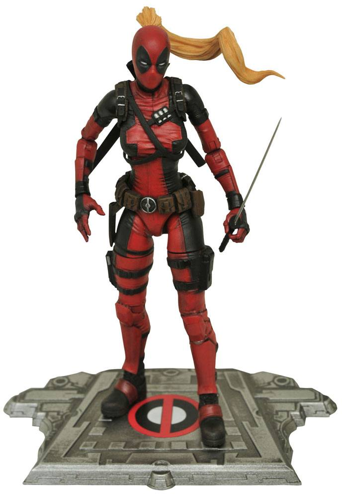 Marvel Select Action Figure Lady Deadpool 16 cm