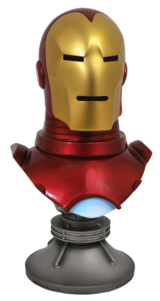 Iron Man Marvel Comics Legends in 3D 1/2 Bust by Diamond Select