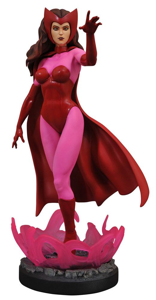 Scarlet Witch Marvel Comic Premier Collection Statue by Diamond Select