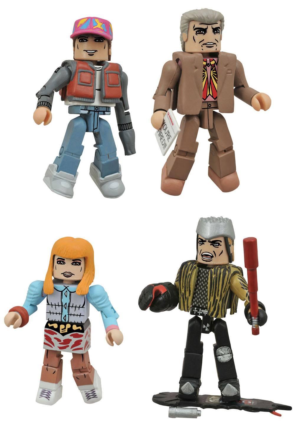 Back to the Future Minimates Action Figures 5 cm Series 1 Box Set