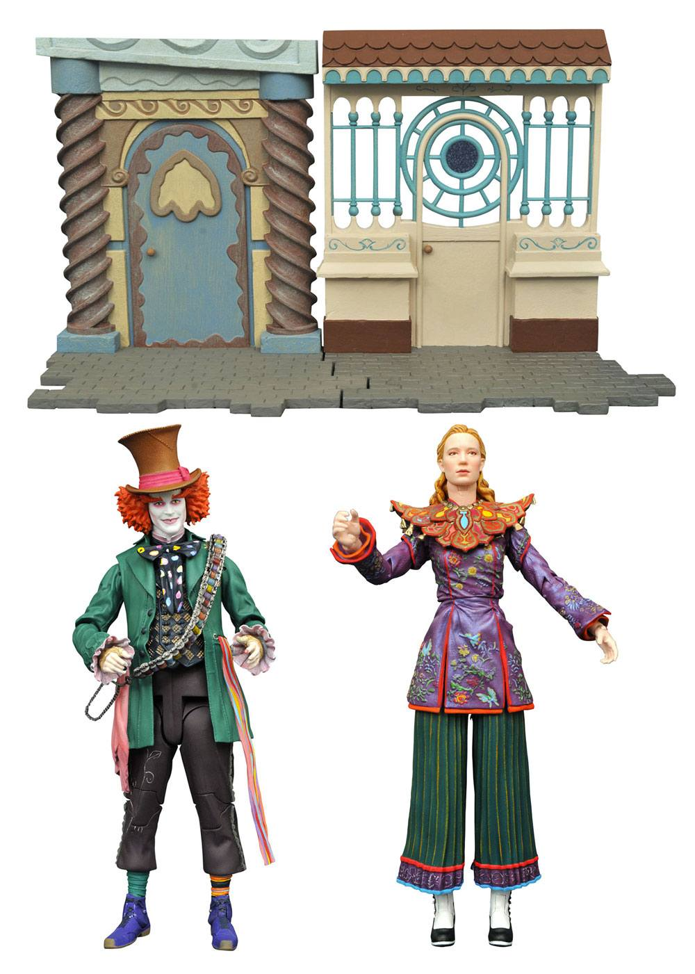 Alice Through the Looking Glass Select Action Figures 18 cm Series 1 Assortment (6)