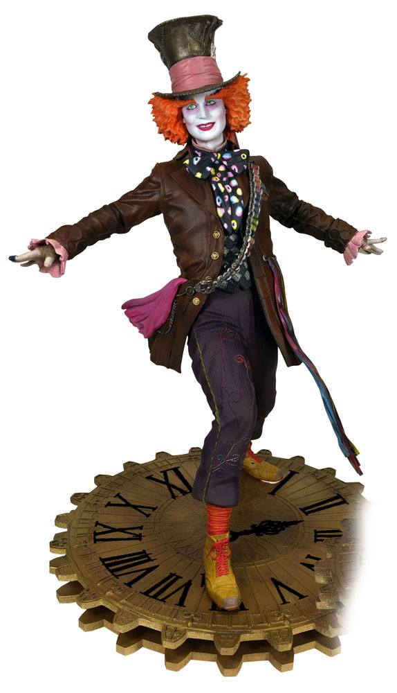 Alice Through the Looking Glass Gallery PVC Statue The Mad Hatter 23 cm