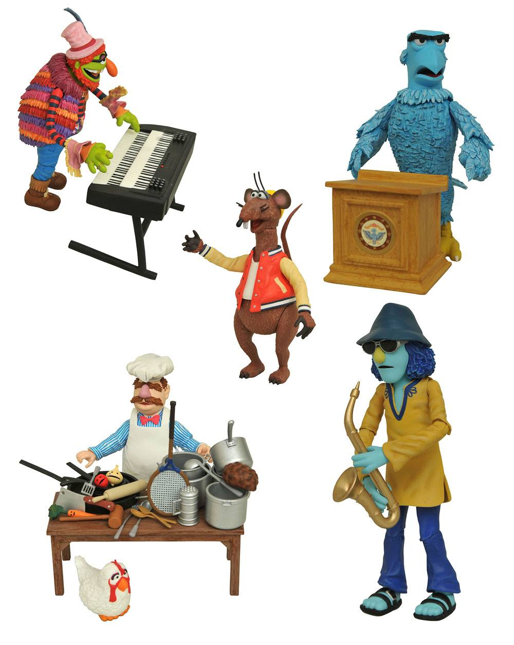 The Muppets Select Action Figures 13 cm 2-Packs Series 4 Assortment (6)