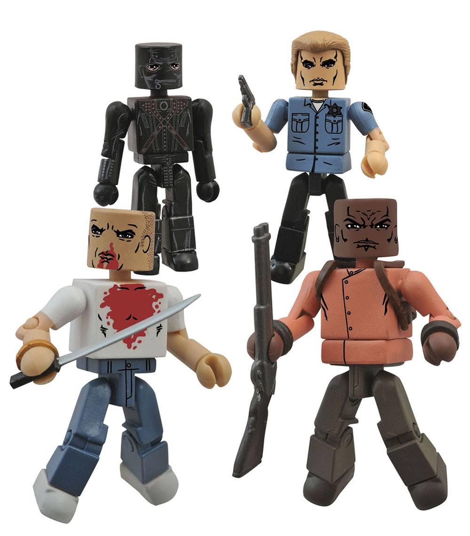 Pulp Fiction Minimates Action Figures 5 cm Bring out the Gimp Box Set