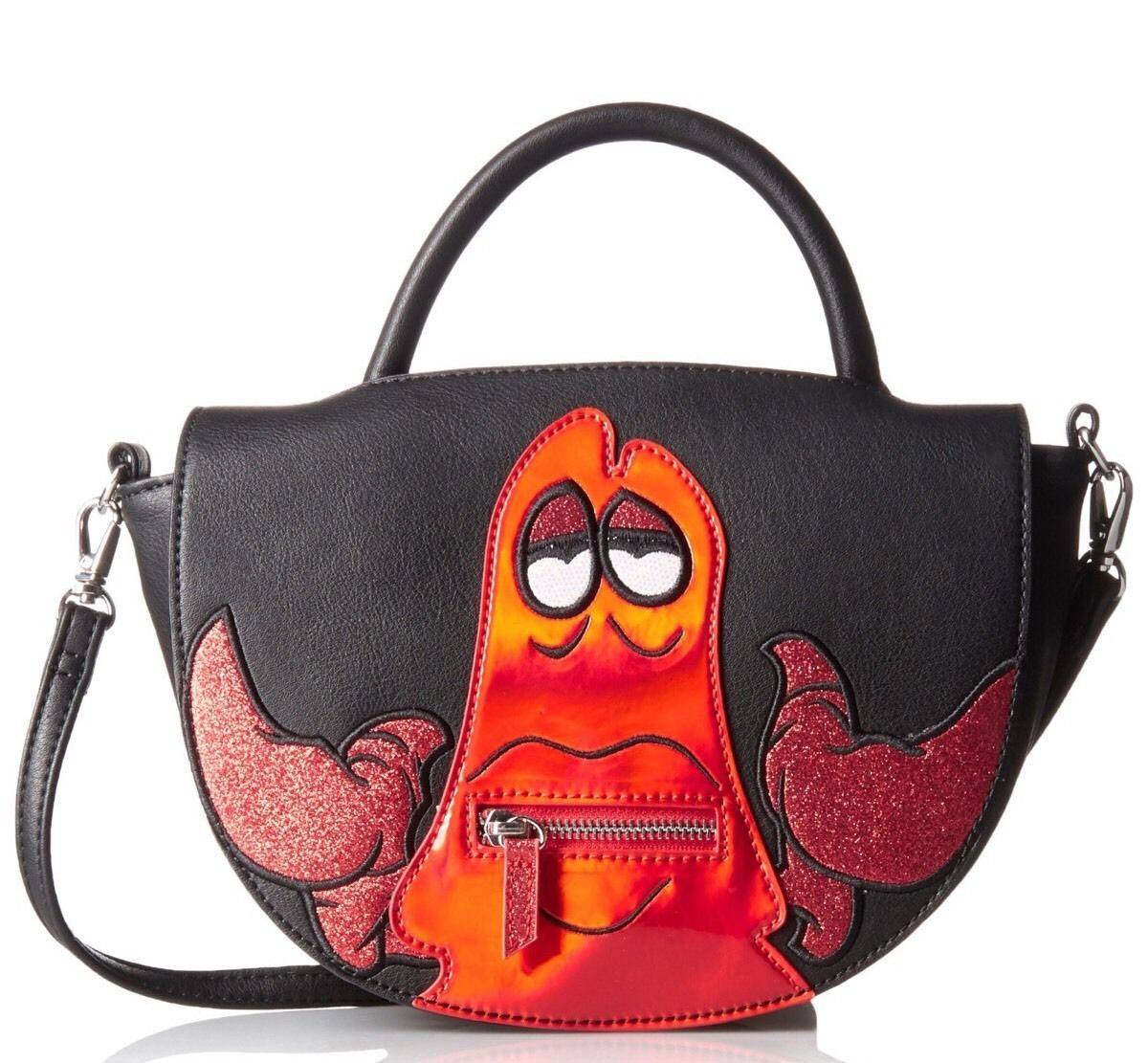 Disney by Danielle Nicole Saddle Handbag Sebastian (The Little Mermaid)