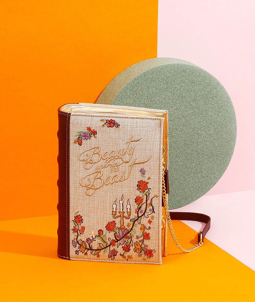 Disney by Danielle Nicole 2 in 1 Crossbody / Clutch Tale as Old As Time (Beauty And The Beast)