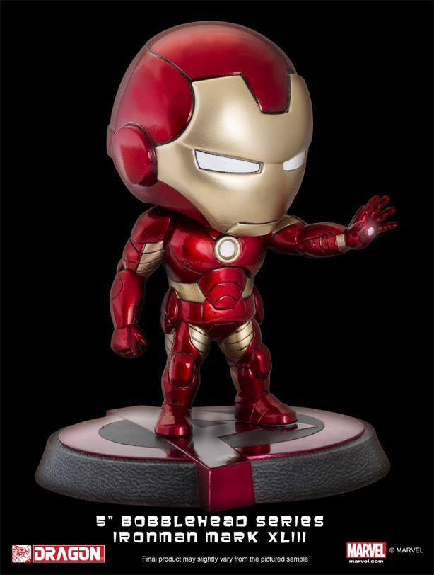 Avengers Age of Ultron Bobble-Head Iron Man Mark XLIII 13 cm