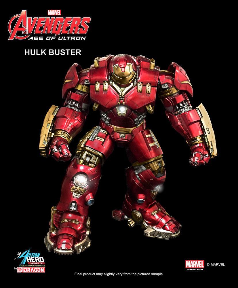 Avengers Age of Ultron Action Hero Vignette 1/9 Hulkbuster 40 cm
