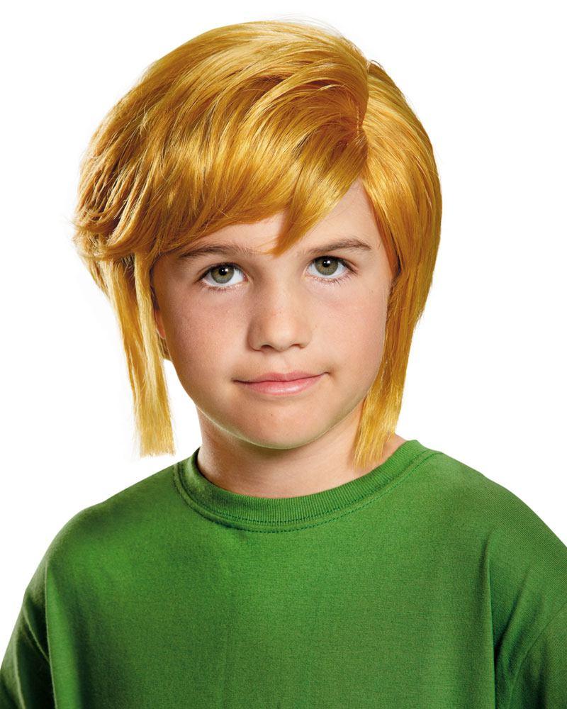 Legend of Zelda Kids Costume Accessories Link Wig