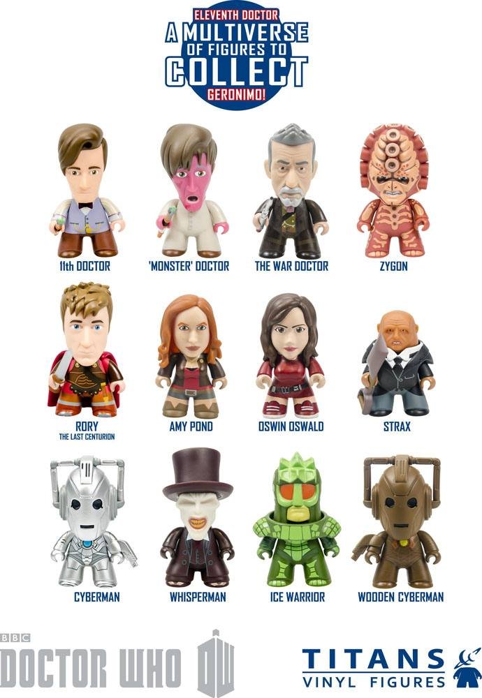 Doctor Who Trading Figure 11th Doctor Geronimo Collection Titans Display 8 cm (20)