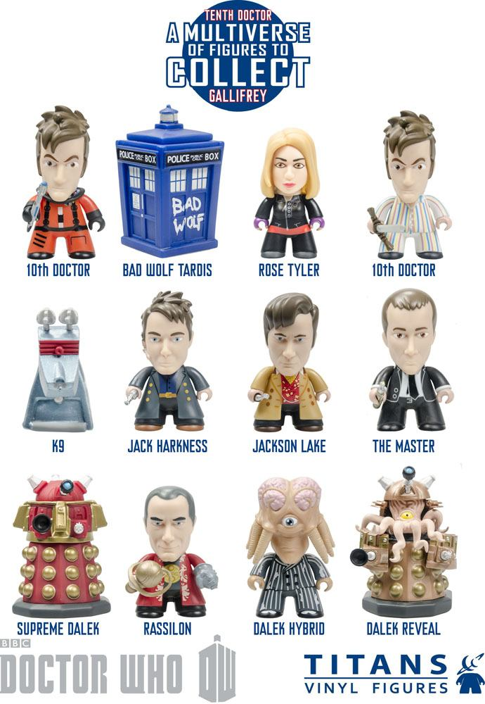 Doctor Who Trading Figure 10th Doctor Gallifrey Collection Titans Display 8 cm (20)