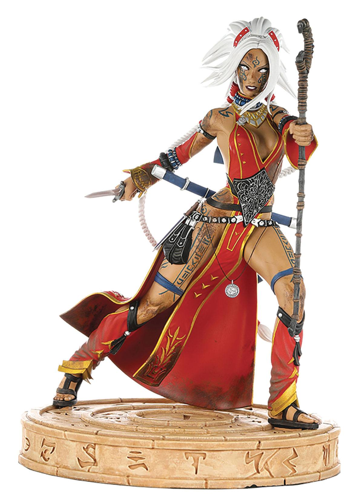 Seoni Battle Ready Diamond Eye Edition Pathfinder Statue by Dynamite Entertainment