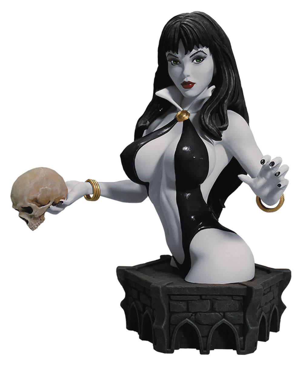Women of Dynamite Bust Vampirella by Arthur Adams Black Version 19 cm