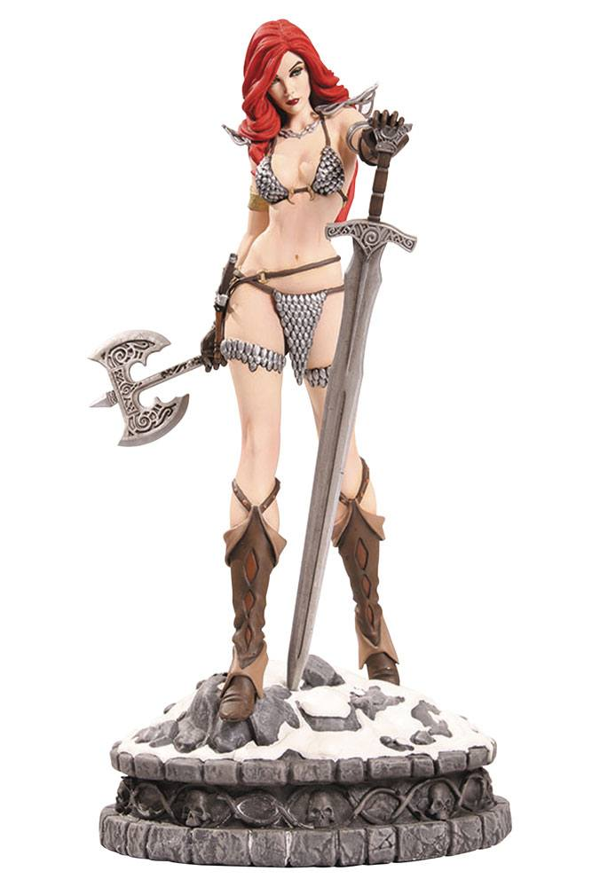 Women of Dynamite Statue Red Sonja Artist Proof Edition 29 cm