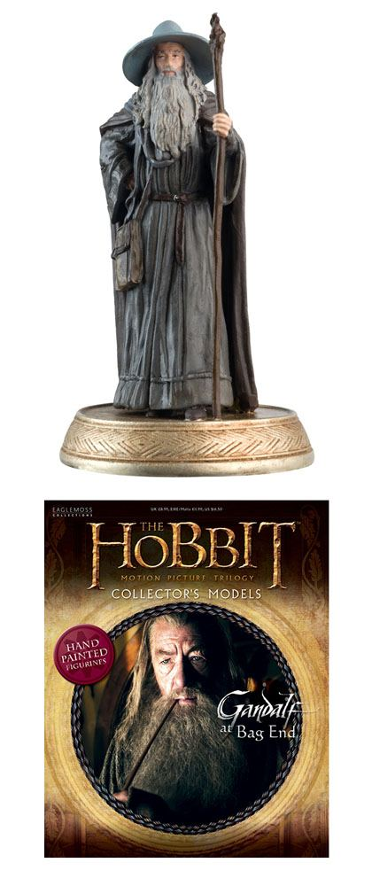 The Hobbit Collector´s Models Mini Figure #1 Gandalf the Grey 8 cm