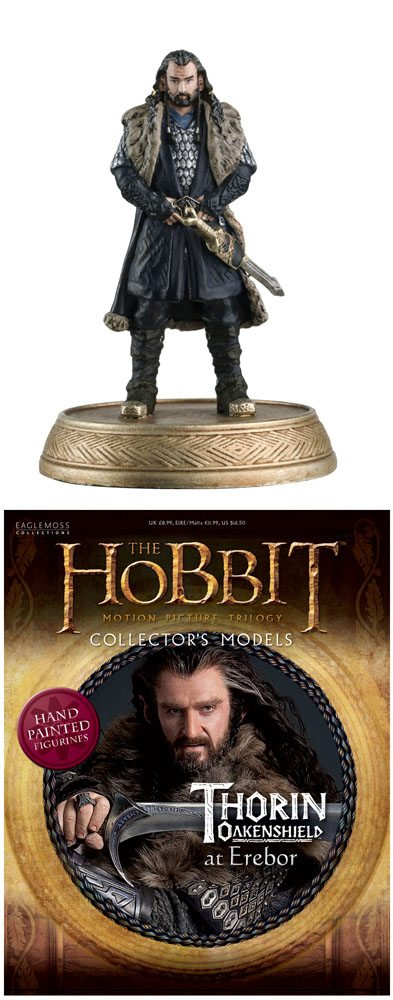 The Hobbit Collector´s Models Mini Figure #2 Thorin Oakenshield 8 cm