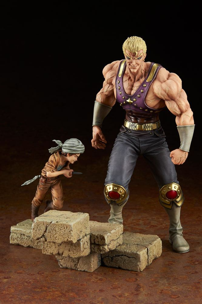 Fist of the North Star PVC Statue 1/8 Holy Emperor Souther-sama & Turban Kid 23 cm