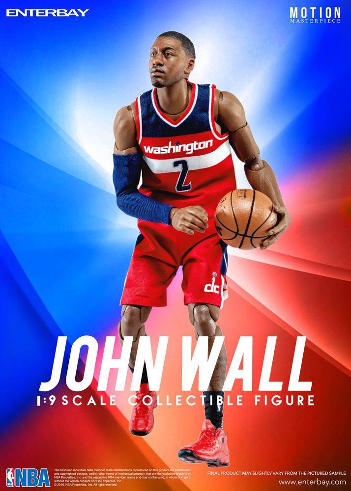 NBA Collection Motion Masterpiece Actionfigur 1/9 John Wall 23 cm