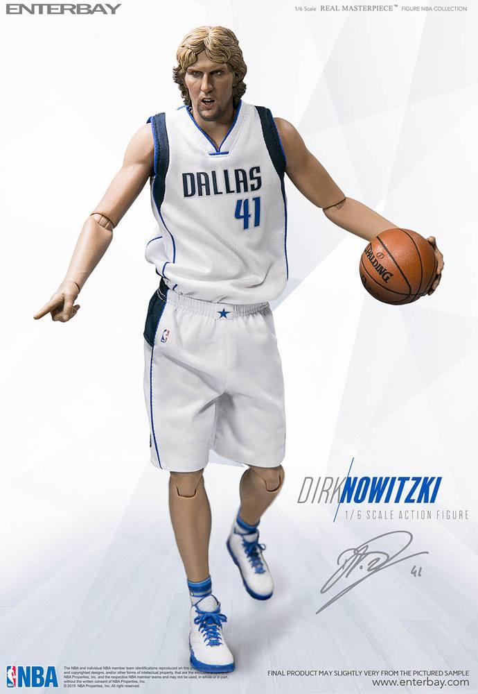 NBA Collection Real Masterpiece Actionfigur 1/6 Dirk Nowitzki 30 cm