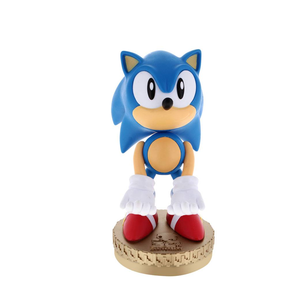Sonic The Hedgehog Cable Guy Sonic 30th Anniversary Special Edition 20 cm --- DAMAGED PACKAGING
