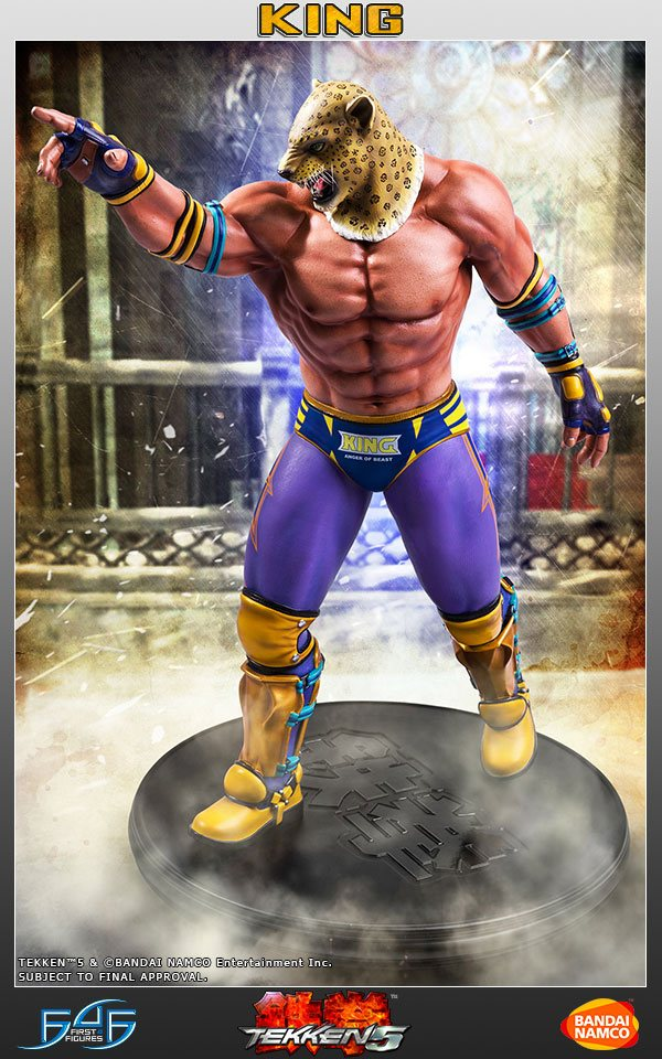 Tekken 5 Statue 1/4 King II 49 cm