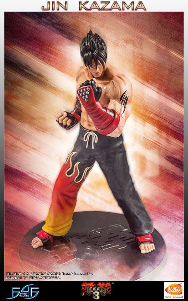 Tekken 3 Statue 1/4 Jin Kazama 48 cm