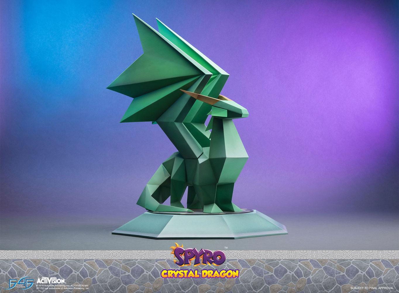 Crystal Dragon Spyro the Dragon Statue by First 4 Figures