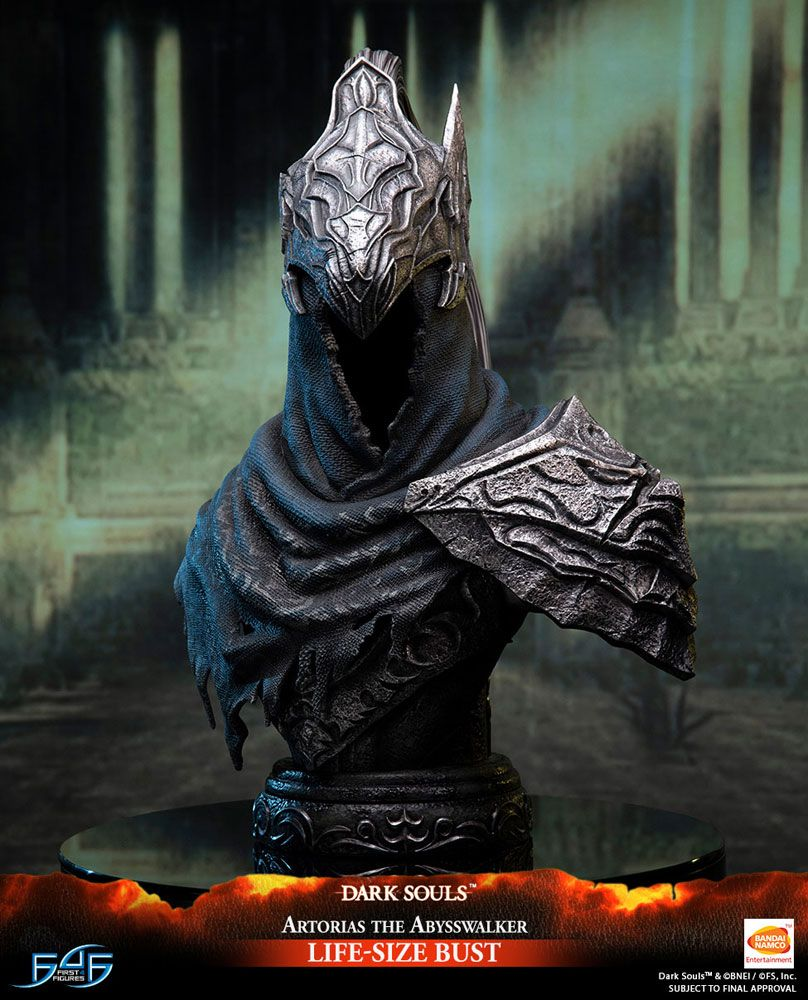 Artorias the Abysswalker Dark Souls Life-Size Bust by First 4 Figures
