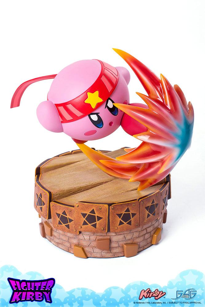 Kirby's Return to Dream Land Statue Fighter Kirby 33 cm