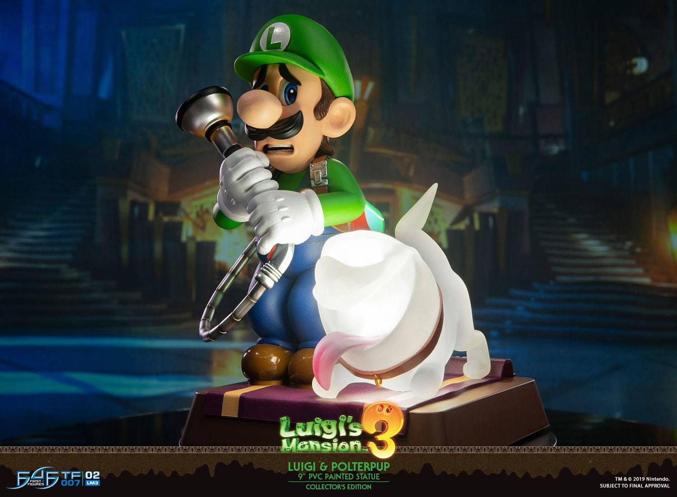 Luigi's Mansion 3 PVC Statue Luigi & Polterpup Collector's Edition 23 cm