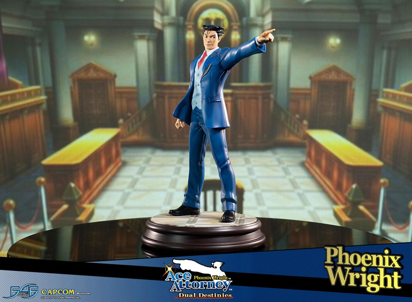 Phoenix Wright Ace Attorney Dual Destinies 1/6 Statue by First 4 Figures