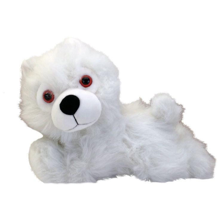 Game of Thrones Plush Figure Ghost Direwolf Prone Cub 23 cm