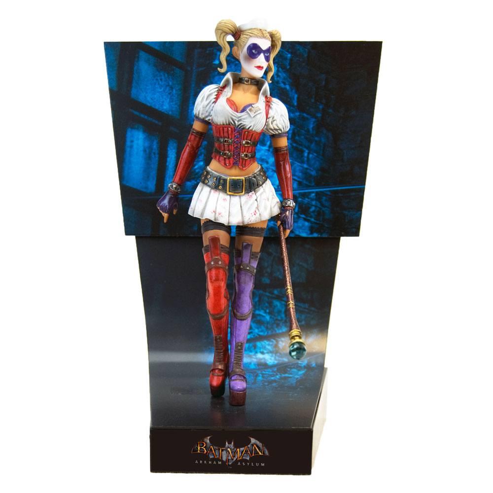 Harley Quinn Batman Arkham Asylum Premium Motion Statue by Factory Entertainment