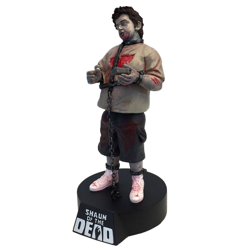 Shaun of the Dead Premium Motion Statue Zombie Ed 19 cm