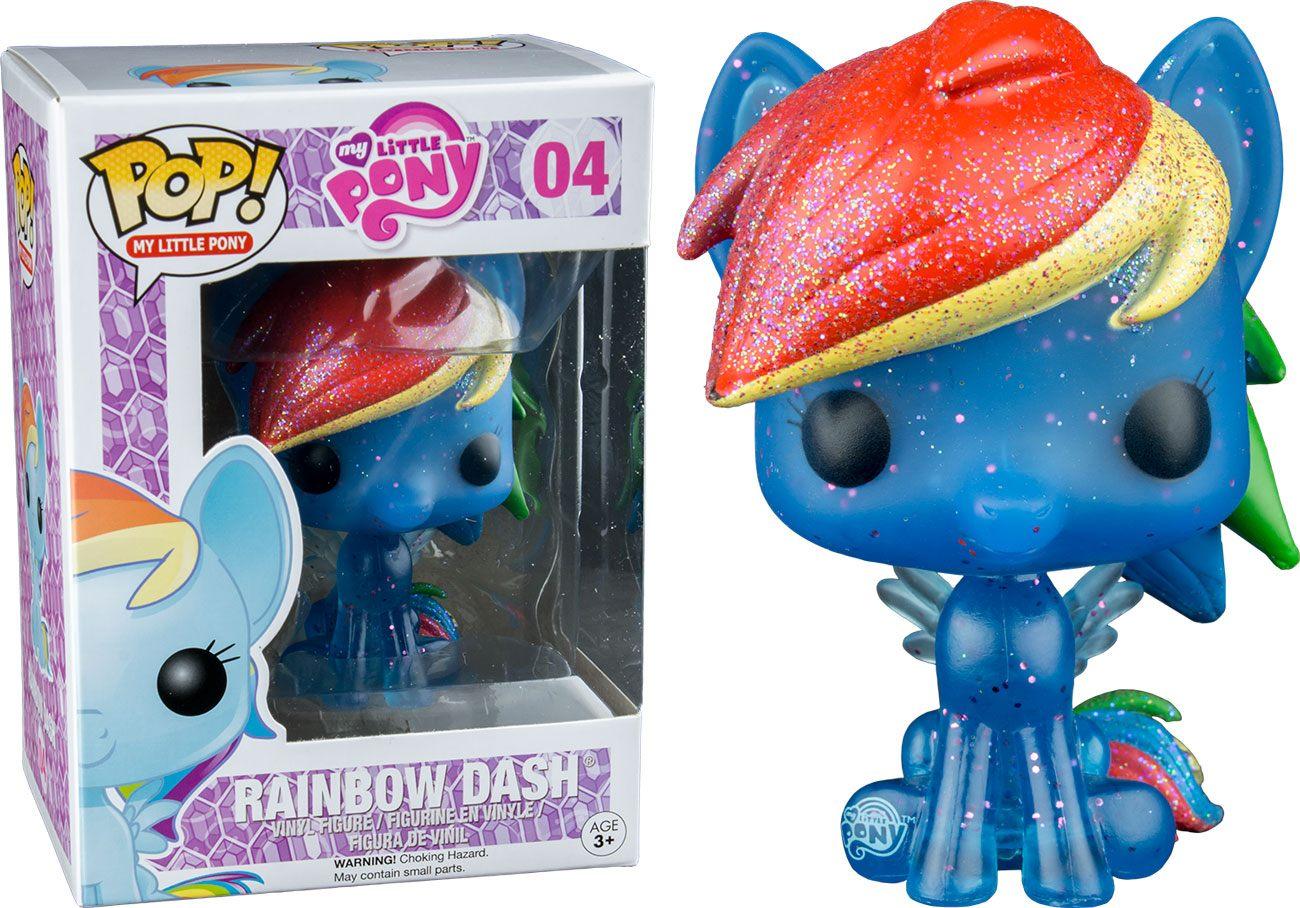 My Little Pony POP! Vinyl Figure Rainbow Dash (Glitter) 9 cm