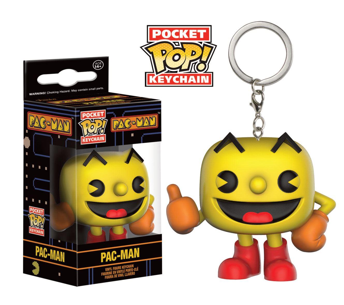 Pac-Man Pocket POP! Vinyl Keychain Pac-Man 4 cm