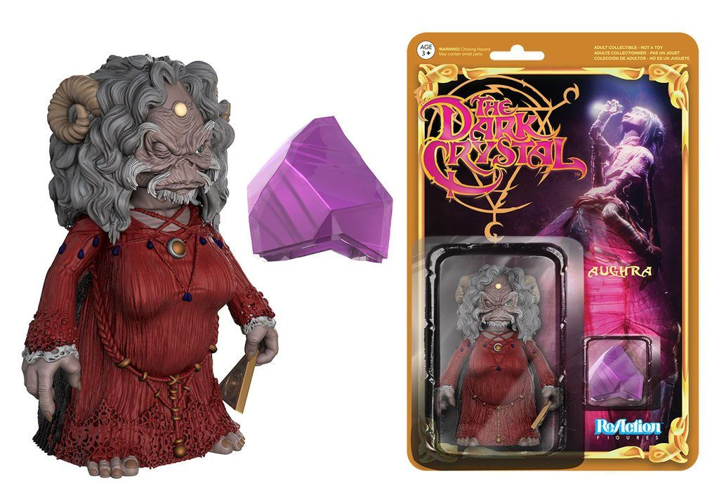 The Dark Crystal ReAction Action Figure Aughra 8 cm