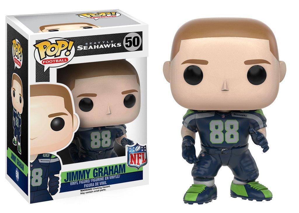 NFL POP! Football Vinyl Figure Jimmy Graham (Seattle Seahawks) 9 cm