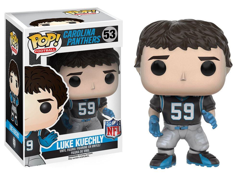 NFL POP! Football Vinyl Figure Luke Kuechly (Carolina Panthers) 9 cm