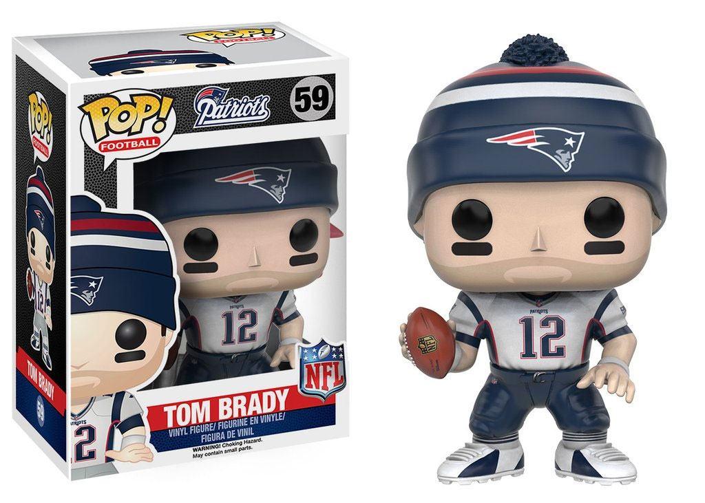 NFL POP! Football Vinyl Figure Tom Brady (New England Patriots) 9 cm