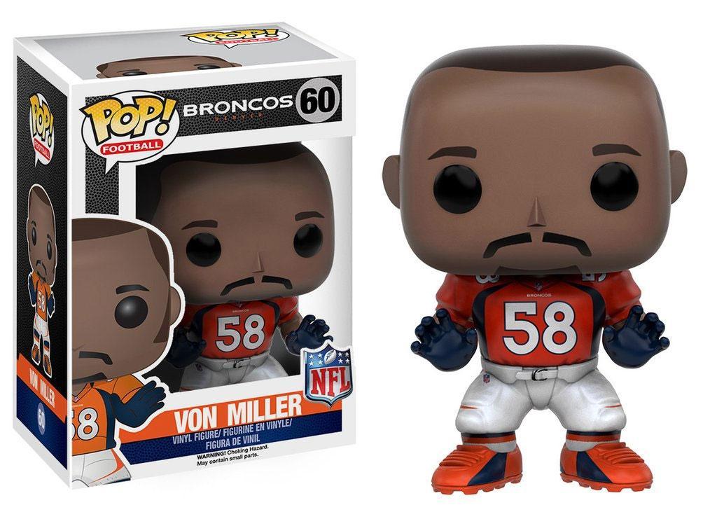 NFL POP! Football Vinyl Figure Von Miller (Denver Broncos) 9 cm