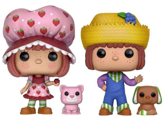 Strawberry Shortcake POP! Vinyl Figures 2-Pack Strawberry Shortcake & Huckleberry Pie 9 cm