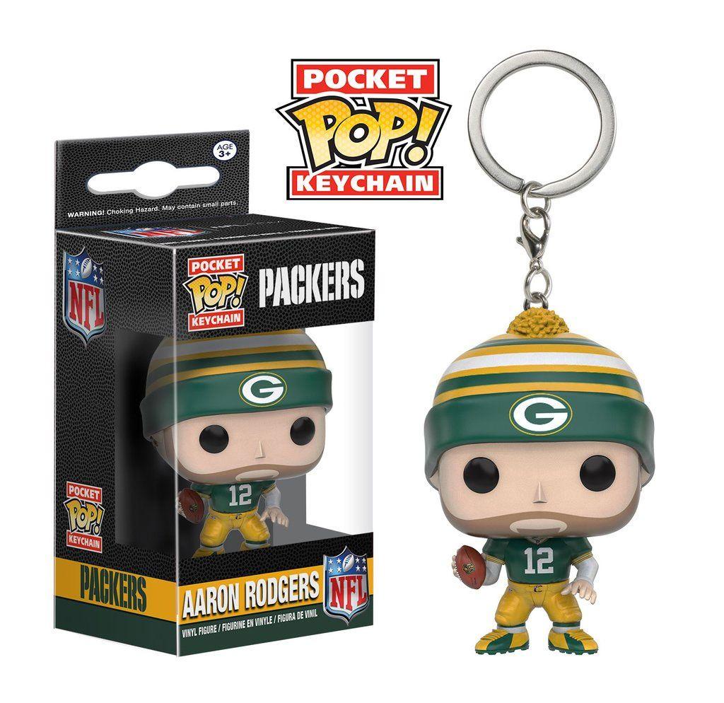 NFL Pocket POP!  Vinyl Keychain Aaron Rodgers (Packers) 4 cm