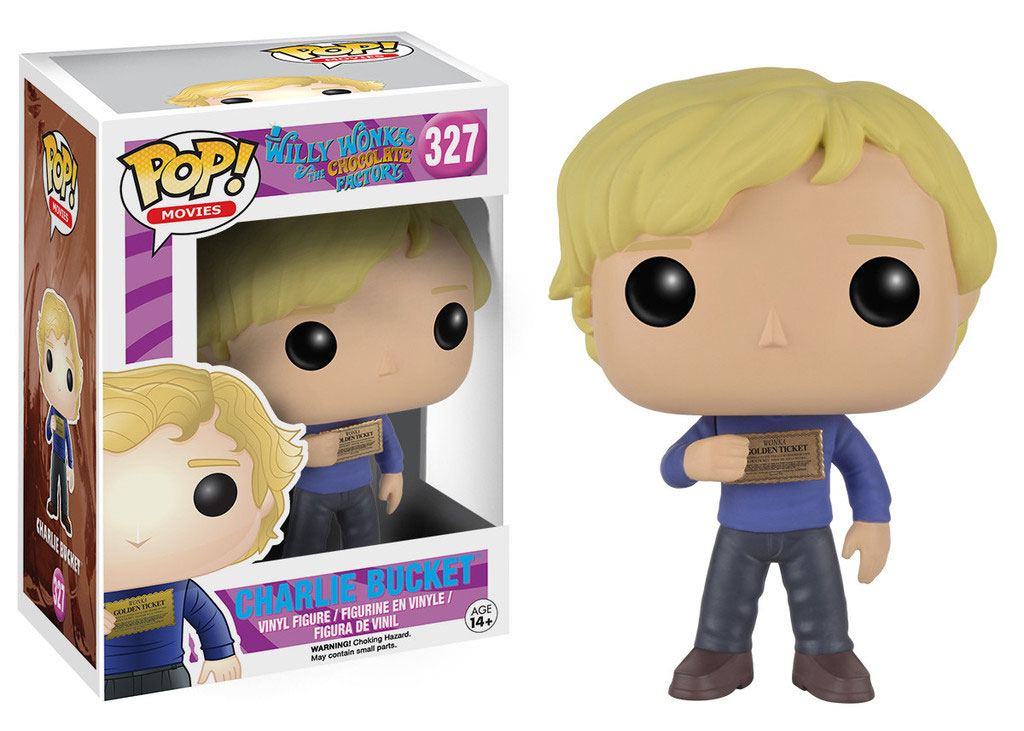 Charlie and the Chocolate POP! Movies Vinyl Figure Charlie Bucket 9 cm
