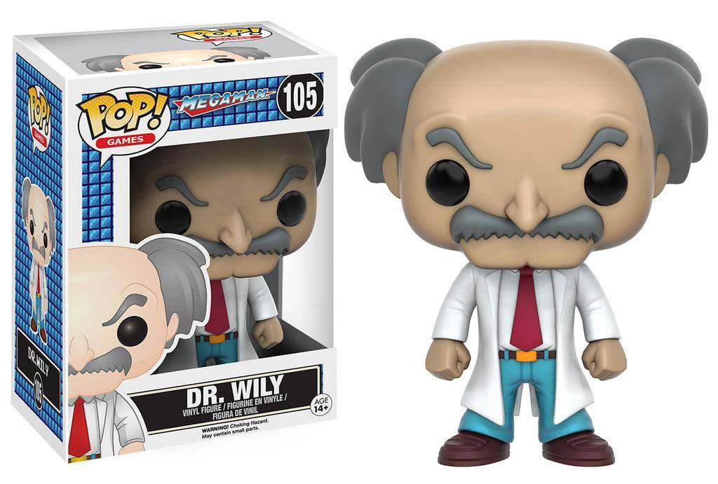 MegaMan POP! Games Vinyl Figure Dr. Wily 9 cm